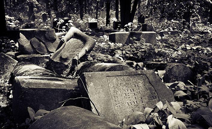 Еврейское кладбище в Каунасе