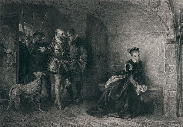 Мария Тюдор подумывала казнить сестру, но под давлением министров поместила её в Тауэр.