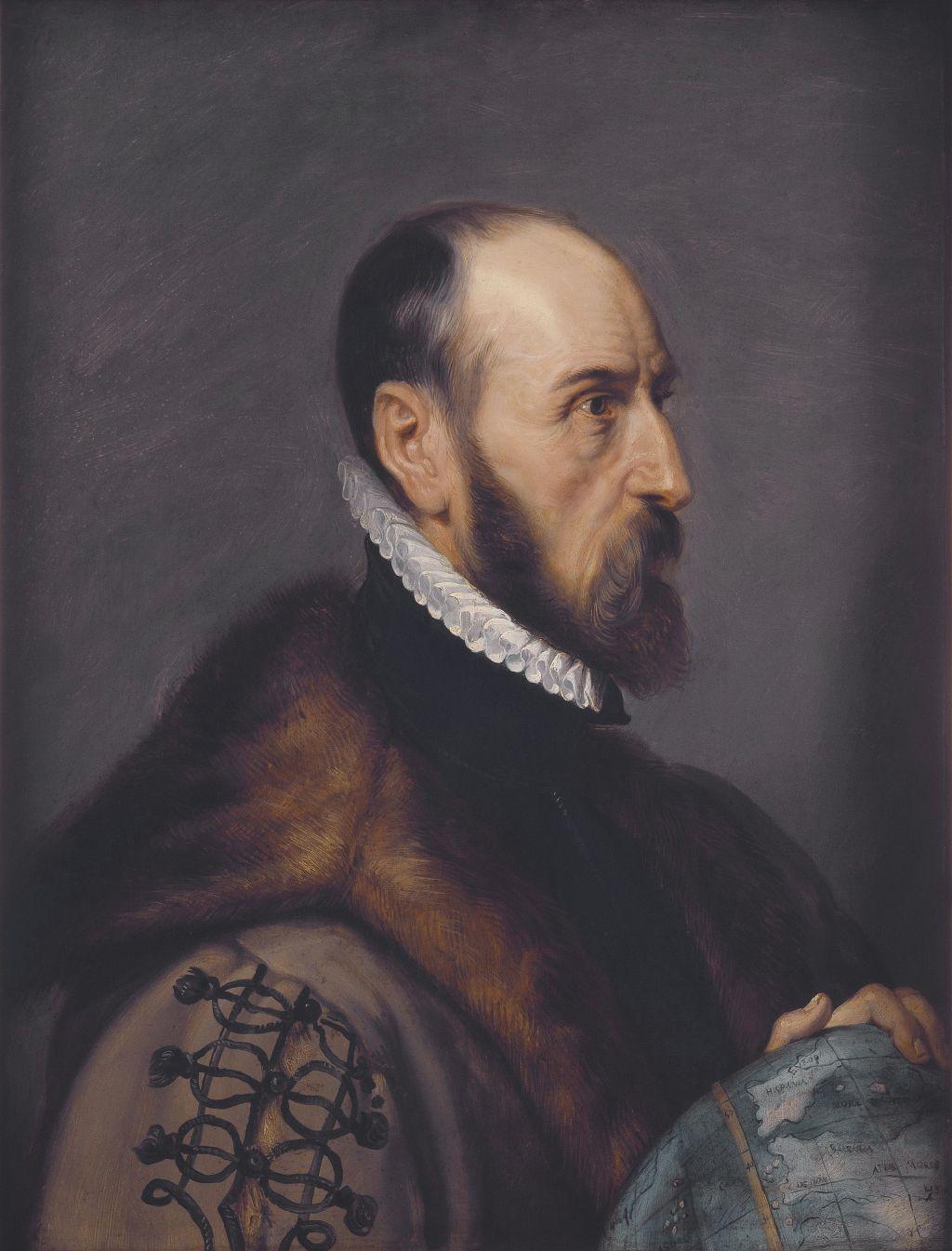Абрахам Ортелий. Портрет работы Рубенса Wikimedia Commons